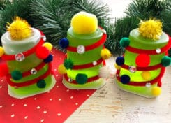 Our Christmas Tree Snacks for Kids are easy to make and perfect for a last minute Christmas treat.