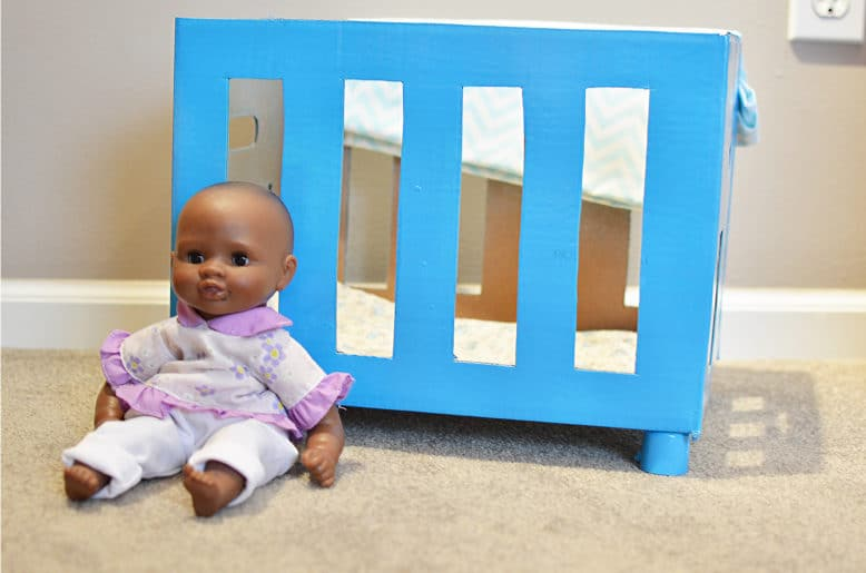 Craft Create Cook How To Make A Diy Baby Doll Crib Craft Create Cook