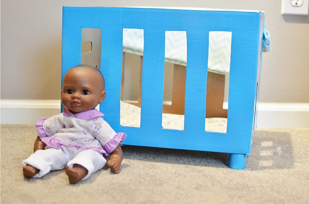 Picture of: How To Make A Diy Baby Doll Crib Craft Create Cook