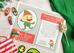 You've Been Elfed. It's probably the most fun you'll have leading up to Christmas.