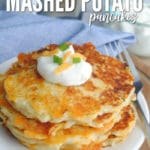 Leftover Mashed Potato Pancake Recipe recipe card