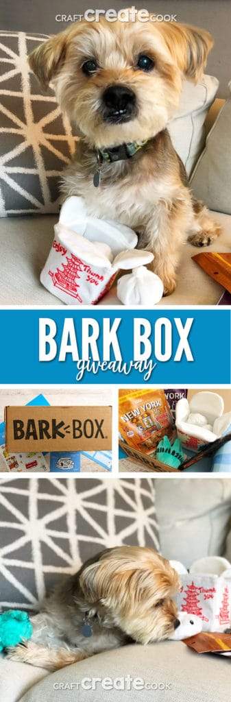 We've teamed up with another great company called Bark Box! Bark Box allows you to spoil your pup without even going outside.