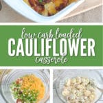 This Keto friendly low carb casserole is sure to be a hit!