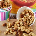 Baked Honey Nut Snack Mix Recipe