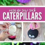 Sock Caterpillars are easy to make, require no sewing and make great items to sell!