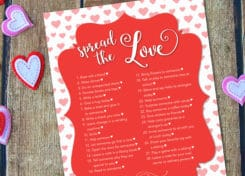 Move over flowers and chocolates, there's a new way to spread the love this Valentine's Day with 28 acts of kindness!