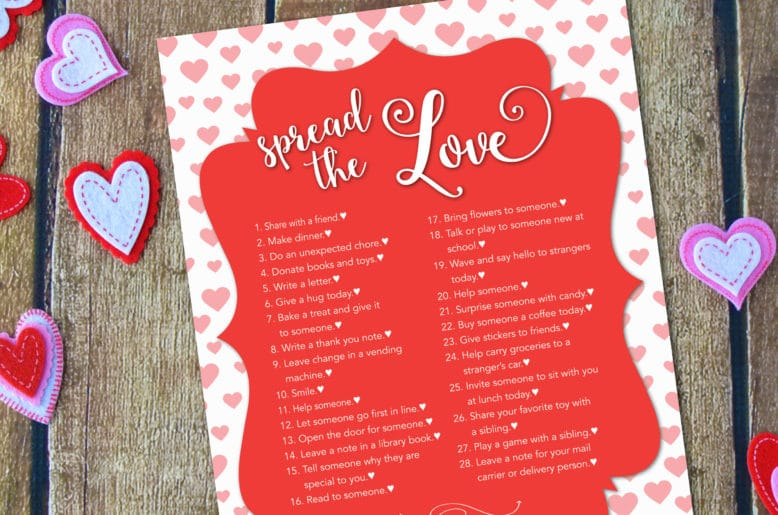 28 Acts Of Kindness Spread The Love This Valentine S Day