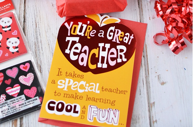 Craft Create Cook Valentine S Day Gift For Teachers Craft Create