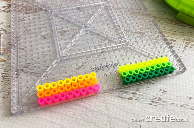 These Perler Bead Bookmarks are completely customizable and ready for your latest book.