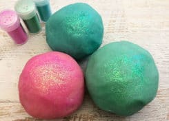 Our Unicorn Play Dough is a fun and easy project, especially if you like unicorns and glitter.