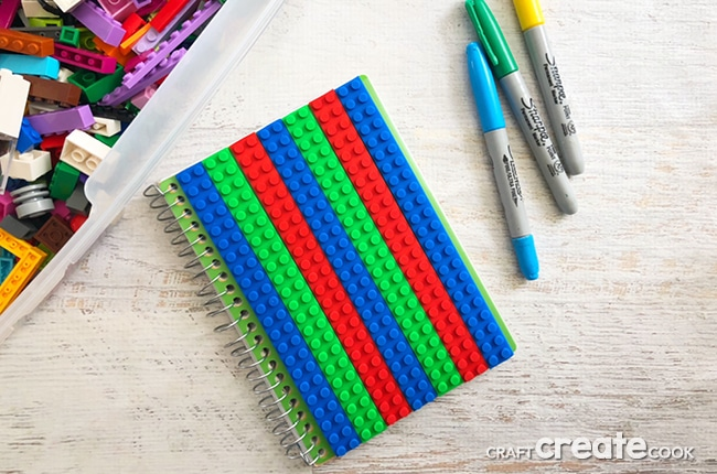 This DIY Lego Journal Craft will make traveling more fun by being able to play with Legos on the go.