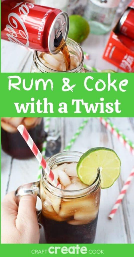 Rum & Coke collage