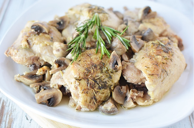You'll love the flavor and juiciness of these instant pot chicken thighs.