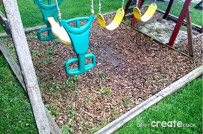 Learn How to Maintain Your Playset with a couple hours and a few materials.