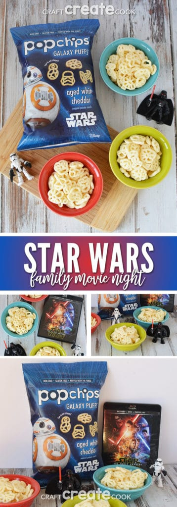 It's time to plan your Star Wars movie night for the family! It's easy and fun with the help of Popchips!
