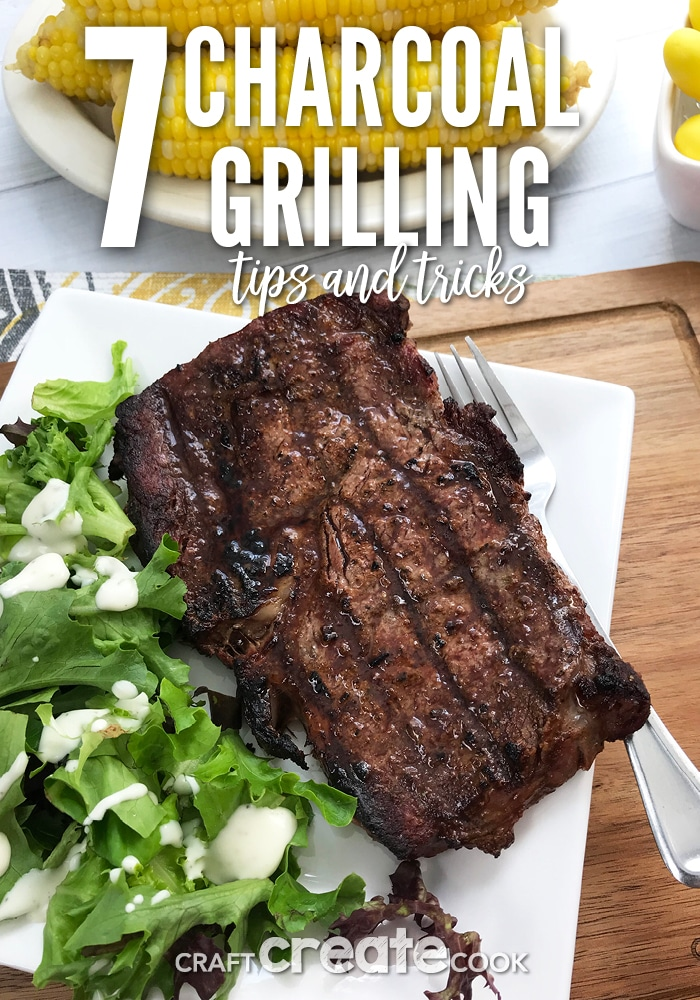 7 Charcoal Grilling Tips & Tricks