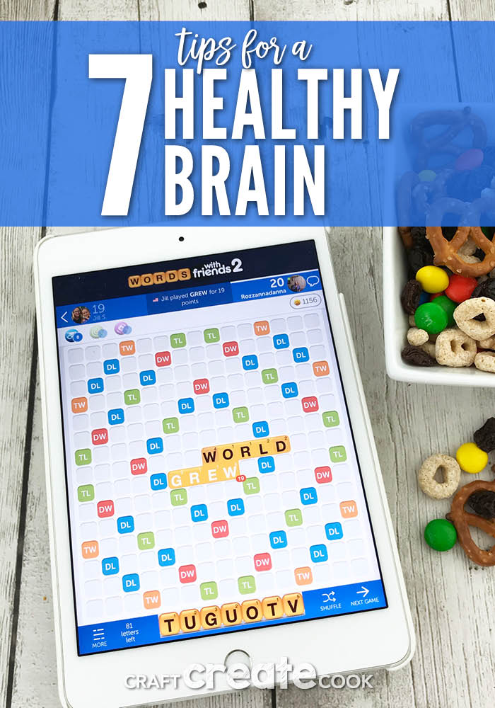Keep your brain active and healthy with our 7 Tips for a Healthier Brain!