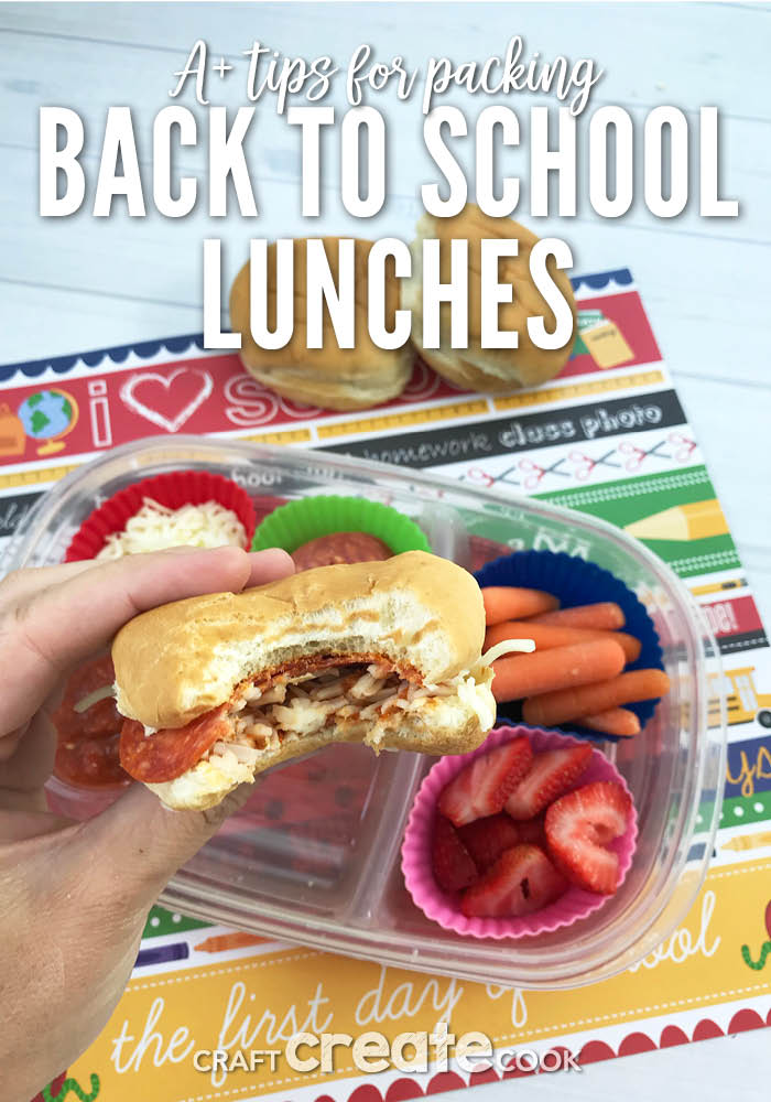 Have a picky eater? Our 7 tips for packing back to school lunches will have them yelling hooray!