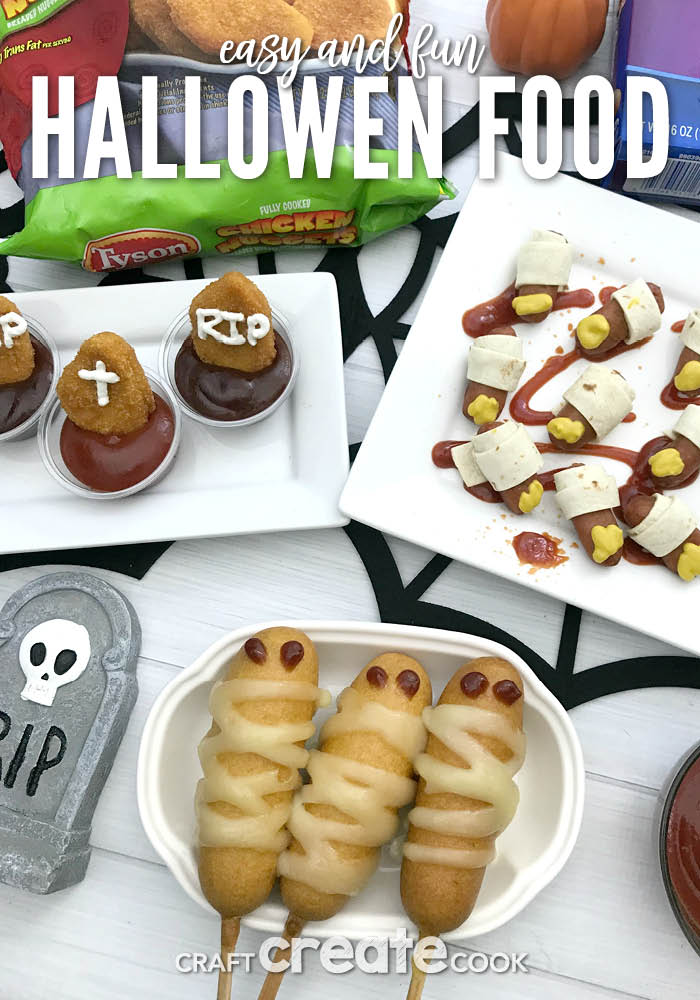 These easy & fun Halloween food ideas will have your guests howling for more!
