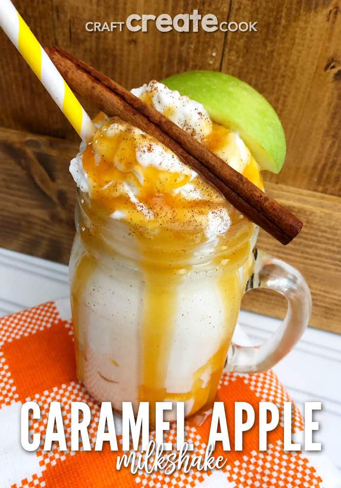 Our Caramel Apple Milkshake is the perfect fall treat to enjoy if you love the perfect combination of sweet caramel and fresh fall apples.