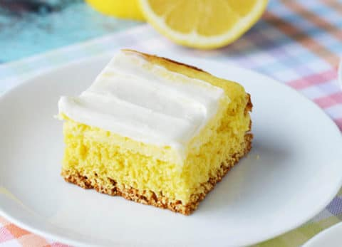 Cream Cheese Lemon Bar Recipe from CraftCreateCook