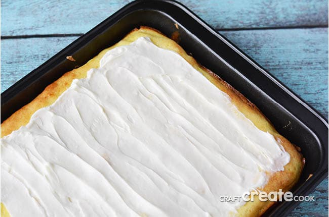 These cream cheese lemon bars are so easy to make with the help of a box of cake mix!