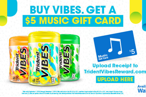 What's better than getting something free after purchasing your favorite gum?