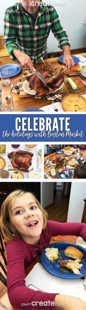 Stress less this holiday season with Boston Market!