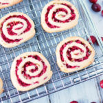 Cranberry Pinwheel Slice and Bake Cookies