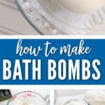 Learn How to Make Your Own Bath Bomb with just a few ingredients for a nice relaxing hot bath.