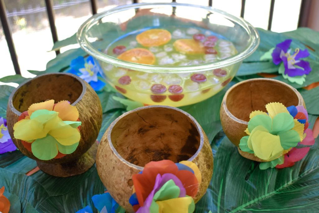 Coconut Cups Luau Drink
