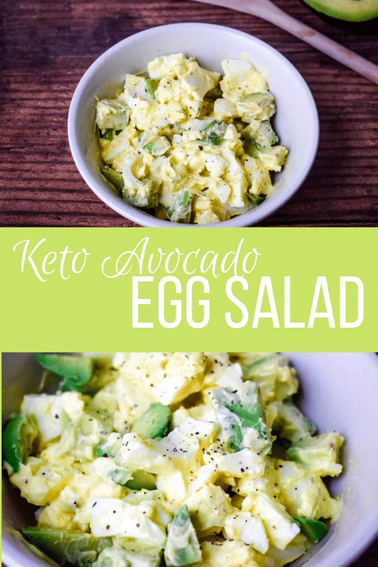 Avocado Egg Salad for keto diet