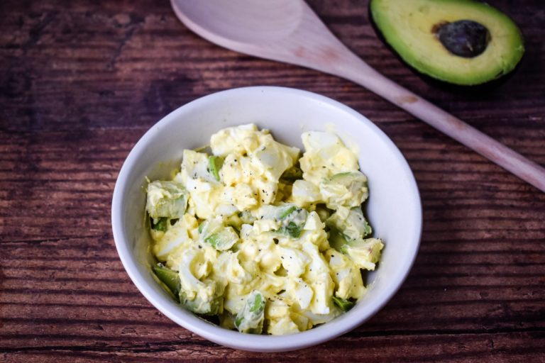 Avocado Egg Salad for the Keto Diet