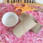 Supplies for fairy house