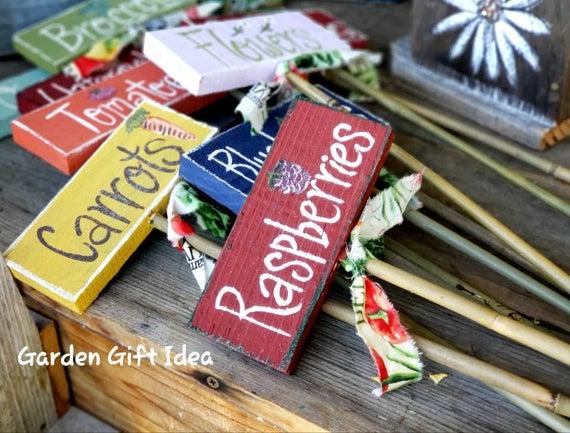 Custom Painted Garden Markers