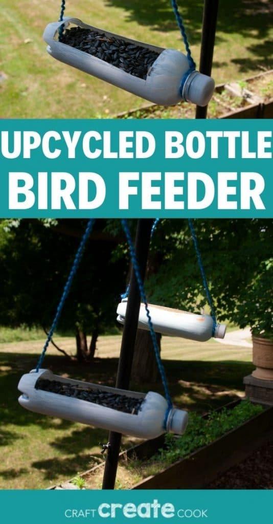 Bird feeder collage