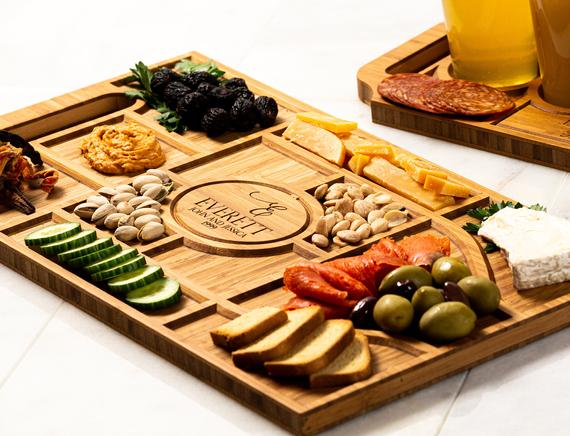 Personalized Charcuterie Planks and Beer Flights 4 Styles   Etsy