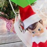 Elf on face mask hammock