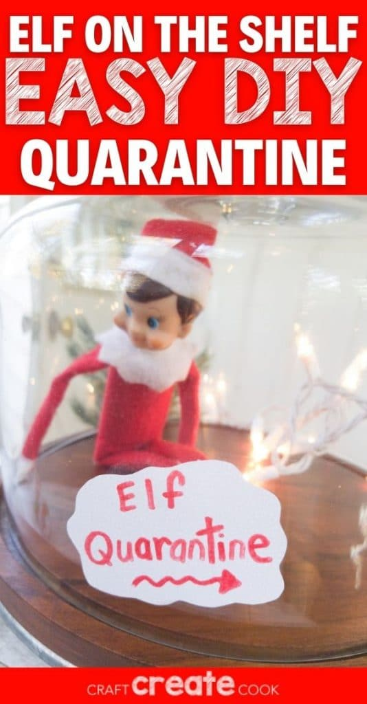 Elf in cake stand