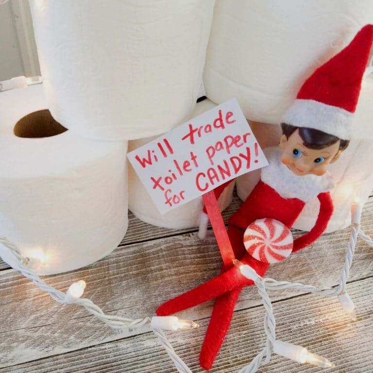 Elf sells toilet paper